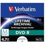Verbatim Opt Media DVD-R M-Disc 4.7GB 5p - 43821