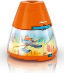 Philips Lampka  z projektorem Disney Planes, LED, pomarańczowa (717695316)