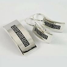 NA Komplet srebrny bransoletka + wisiorek + kolczyki B44/0 W13/0 K13/0 (B43/0 W13/0 K13/0) 135.00