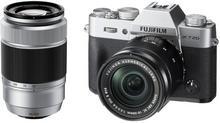 Fuji X-T20 + 16-50 + 50-230 srebrny