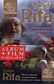 Rafael Dom Wydawniczy praca zbiorowa Święta Rita. Cudowna historia patronki od spraw beznadziejnych + DVD