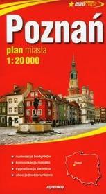 zbiorowa Praca Poznań plan miasta 1:20 000 / wysyłka w 24h