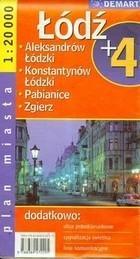 Plan miasta Łódź plus 4) PRACA ZBIOROWA