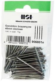 Grene boazeryjne stalowe 2 x 40 mm 70 g