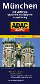 ADAC Monachium mapa 1:20 000 ADAC