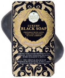 NESTI DANTE Czarne mydło w kostce - Luxury Black Soap Czarne mydło w kostce - Luxury Black Soap