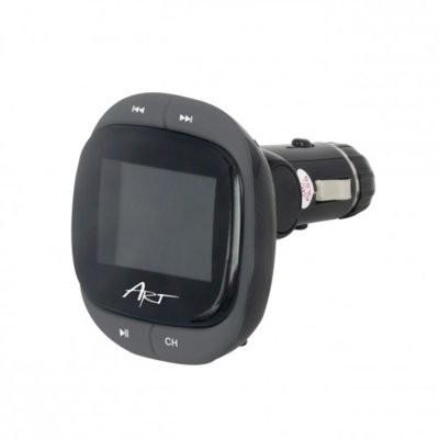 Art TRANSMITER FM MP3 samoch. ekran 1.4 RDS pilot USB/SD/MMC FM-04A MP3TR FM-04A