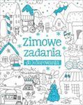 Olesiejuk Sp. z o.o. Anna Wiśniewska Zimowe zadania do kolorowania