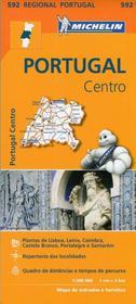 Portugal Centro, 1:300 000 Michelin