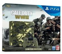 Sony PlayStation 4 Slim 1TB Green Camo + Call of Duty WWII + To jesteś Ty