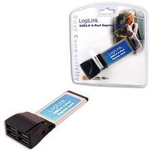 LogiLink Karta Express Card 4xUSB 2.0 PC0049