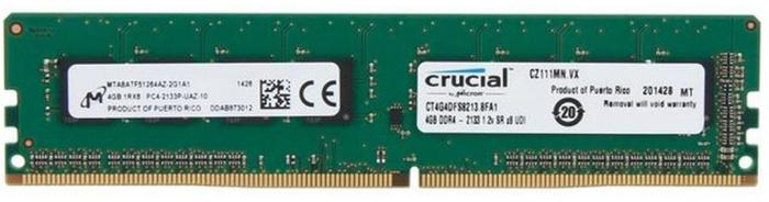 Crucial 4 GB CT4G4DFS8213 DDR4