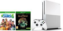 Microsoft Konsola Xbox One S 1 TB + Sea of Thieves +Sims 4 + 6M Live Gold