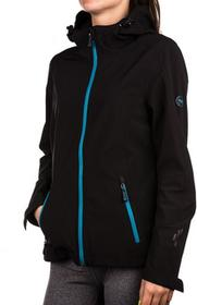Hi-Tec Damski Softshell Lady Atino Black/Sea Blue r L 5901979099550