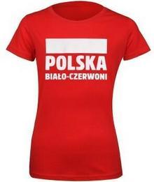 No brand T-shirt damski Polska Biało-Czerwoni S337896 rozm S czerwony S353642-S damski