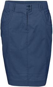 Bonprix Spódnica ze stretchem niebieski indygo