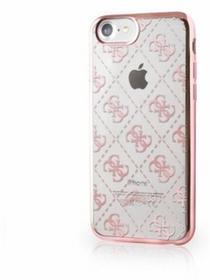 Guess Etui iPhone 7 rose gold 4G Transparent GUHCP7TR4GRG