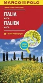 Włochy Malta mapa - Euro Pilot