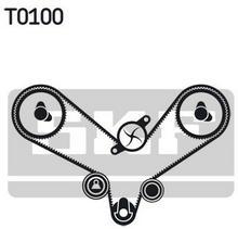 SKF Pompa wodna + zestaw paska rozrządu VKMC 01201