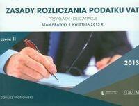 Zasady rozliczania podatku VAT 2013 część 2 Janusz Piotrowski