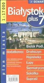 Demart Białystok - plan miasta (skala 1:17 000) - Demart