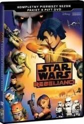 Galapagos Star Wars Rebelianci sezon 1 3 DVD) Płyta DVD)
