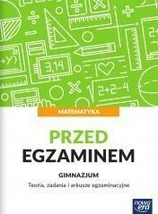 Nowa Era Matematyka Gimnazjum  Przed egzaminem Teoria zadania i arkusze egzaminacyjne  - Jerzy Janowicz