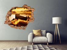 Oklejaj Naklejka na ścianę Dziura 3D Wielki mur chiński 0103 nakl_dziura3d_103