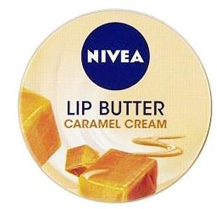 Nivea LIP BUTTER Caramel Cream balsam do ust, 19ml