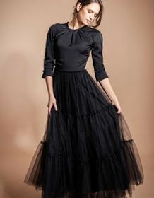SinWeaver Suknia wieczorowa z tiulem