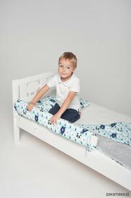 Ikea Ochraniacz do łóżka miętowe misie