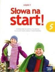 Nowa Era Słowa na start 5 Podręcznik, część 1. Klasa 5 Szkoła podstawowa Język polski - Marlena Derlukiewicz