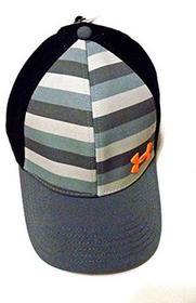 -27% Under Armour Men Striped Front Stretch Fit Big logo Baseball Cap (L XL 96ea4145de64