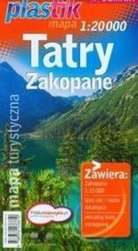 Tatry Zakopane - mapa turystyczna (skala 1:20 000) - Praca zbiorowa
