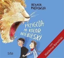Bis Przygoda ma kolor niebieski (audiobook CD) - Renata Piątkowska