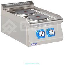 Gort Kuchnia elektryczna 2-płytowa nastawiana GC1100-040EV
