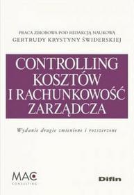 Difin Controlling i rachunkowość zarządcza kosztów - Świderska Gertruda Krystyna