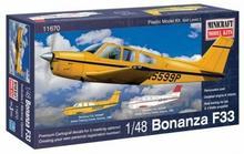 Minicraft Model Kits Model plastikowy - Samolot Bonanza F-33 Straight Tail - Minicraft 11670