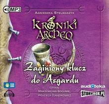 StoryBox.pl Zaginiony klucz do Asgardu. Kroniki Archeo (audiobook CD) - Agnieszka Stelmaszyk