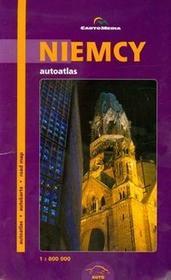 Niemcy autoatlas 1:800 000 CartoMedia