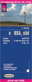 Reise Know How USA południowe mapa 1:1 250 000 Reise Know-How