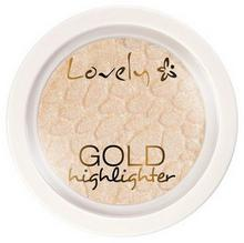 Lovely Lovely Gold Highlighter Rozświetlacz do Twarzy LOV-7267