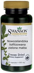 SWANSON Nowozelandzka liofilizowana zielona małża 500mg - (60 kap)