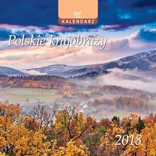 EV-CORP EV-Corp, kalendarz ścienny 2018, Polskie krajobrazy