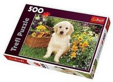 Trefl Labradorek w ogrodzie 37160