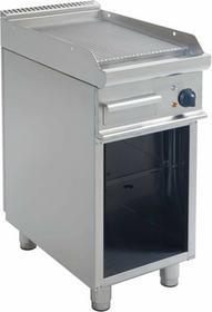 Saro Grill elektryczny | ryflowany | 395x530mm | 400V / 5,4 kW 3-1240