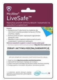 McAfee Poland) Sp z o.o LiveSafe 12 mc McAfee12m