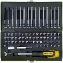 Specjalny zestaw bitów PROXXON 23107Super bezpieczeństwo, 75-części