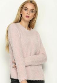 Renee Różowy Sweter Angle Cut