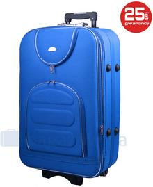 PELLUCCI Średnia walizka PELLUCCI 801 M - Niebieski - niebieski